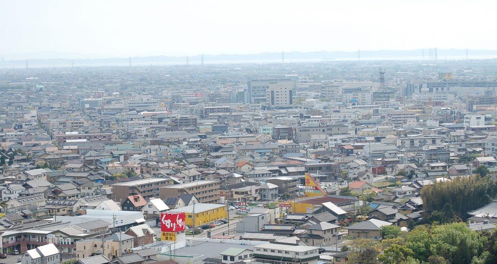 西尾市風景